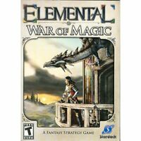 Elemental War of Magic PC 2010 Rated Teen A Fantasy Strategy Game Stardock