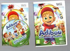 Rarissime !!! ADIBOU ET LES SAISONS MAGIQUES : Super Pour Les Petits  Wii/Wii U