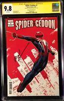 SPIDER-GEDDON #1 CGC SS 9.8 NAKAYAMA PS4 GAME VARIANT VENOM CARNAGE MARY JANE