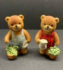 New listing Vintage Lucy & Me Bear-Enesco-1979 2 figures Gardeners