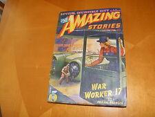 Amazing Stories Sept 1943 Ross Rocklynne J Allen St. John Illo RG Jones Cov GD+