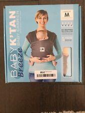 New - Baby K'tan Breeze Baby Carrier, Medium, Charcoal