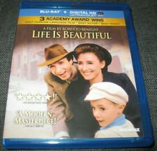 Life Is Beautiful Blu-ray Disc Roberto Benigni 1997 Oop Usa Authentic