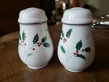 Holiday Splendor Salt and Pepper Shakers by Christopher Stuart