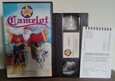 VHS FILM Cartoni Animati CAMELOT stardust S 12255 no dvd(VHS9)