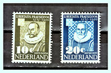 "NETHERLANDS: 1950 Mi: NL-563 - 564 ""University of Leiden"" MLH Set"