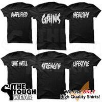 Gym Rabbit Gym Men's Bodybuilding T-shirt -Fitness & Workout Printed Tshirt
