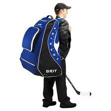 "New Grit hockey pod equipment bag 30"" junior blue Toronto back pack stand jr ice"