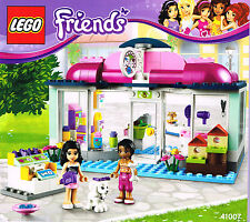 LEGO 41007 NEW Instruction Book for Friends Set - Heartlake Pet Salon   Manual