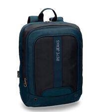 """Zaino tecnico Blu Pepe Jeans Viaggio Scuola Porta Computer PC Laptop 13.3"""" 40x30"""