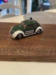 Corgi Toys Volkswagen Beetle Euro Police Car No: 492 - 1966-69