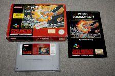 Super Nintendo - Wing Commander - Snes - Complete - Boxed + Manual - VGC