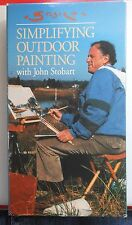 Simplifying Outdoor Painting John Stobart VHS Oil Painting Instruction Plein Air