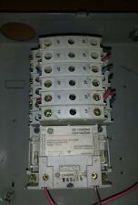 GE Lighting Contactor CR460B, 11 Pole (5 x CR460XP32, 1x CR460XP31 )