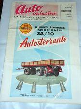 Storia Locale Bari - Auto Industrie - XIX Fiera del Levante Numero speciale 1955