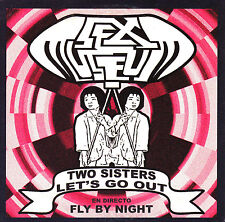CD SINGLE rare SEX MUSEUM two sisters 2004 let's go out GARAGE live