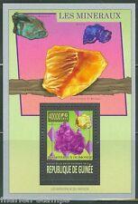 Guinea 2013 Minerals Souvenir Sheet Mint Nh