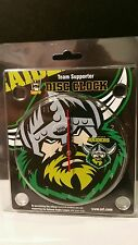 Canberra Raiders NRL Disc Desk Clock NEW , Jersey, cap, Official Merchandise