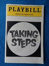 Taking Steps - Circle In The Square Theatre Playbill w/Ticket - April 19th, 1991