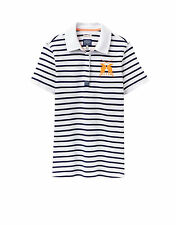 Joules Cotton Short Sleeve Striped T-Shirts for Women