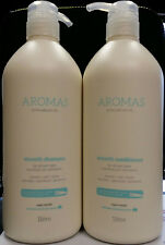NAK AROMAS SMOOTH SHAMPOO WITH ARGAN OIL 1 LITRE AND CONDITIONER 1 LITRE