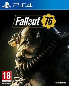 Fallout 76 PS4 (Sony PlayStation 4, 2018) Brand New - Region Free