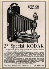 1910 e Kodak 3 A Special $65.00 Camera Photography Print Ad