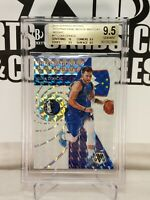 🔥📈 GEM MINT + BGS 9.5  w/10🔥 LUKA DONCIC 2019-20 Mosaic Men Of Mastery Silver