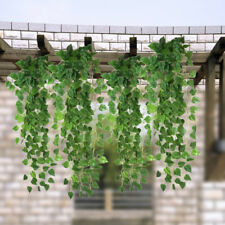 Artificial Fake Hanging Vine Plant Leaves Garland Home Garden Wall Decor New x 1