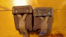 ✨ VINTAGE MOSIN~NAGANT LEATHER AMMO POUCH SHIPS FREE 😃