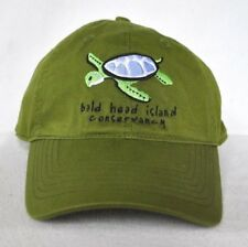 *BALD HEAD ISLAND CONSERVANCY* North Carolina Sea Turtle Ball cap hat *OURAY*
