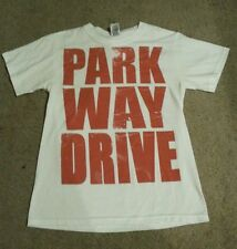 Parkway Drive red letters logo MENS Shirt-FAST SHIPPING