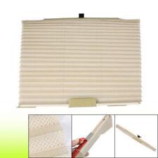 Beige 2Pc Auto Retractable Window Shade Curtain Sunshade Tata Indica Vista