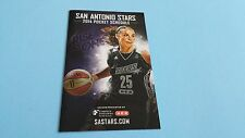 2014 WNBA SAN ANTONIO STARS POCKET SCHEDULE***ST. PHILIP'S COLLEGE***