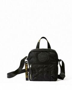 Dr Martens Flight Super Mini Nylon Bag Black Crossbody