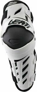 Leatt Dual Axis Knee & Shin Guard Protection PAIR Motocross Off-road / Open Box