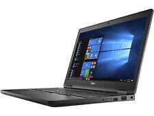 """Dell Latitude 5580 X1W6W 15.6"""" i7 7820HQ 16GB Ram 256GB SSD NVIDIA Win 10 Pro"""