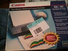 Canon BJC-80 Color Bubble Inkjet Printer New  OPEN BOX
