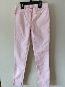 Jacadi Paris Girls Pink Slim Jeans Size 10A