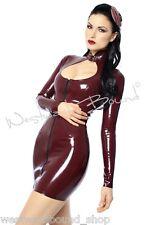 R0527 LATEX Rubber DRESS *BLACK* Westward Bound £179 RRP Size 20UK SECONDS