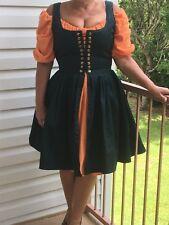 RENAISSANCE Irish Dress Mid length Dress PEASANT PIRATE WENCH Steampunk