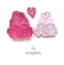 San Valentino Gnomi Innamorati Love Amore Formine Per Biscotti Cookie Cutter
