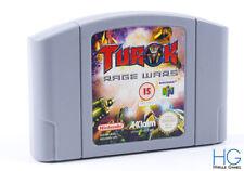 Turok: Rage Wars - N64 Nintendo 64 Retro Game Cartridge PAL