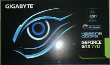 GIGABYTE GTX 770 Windforce 3X Triple Fan 4GB OC Version | Open Box | Never Used