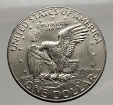 1978  President Eisenhower Apollo 11 Moon Landing Dollar USA Coin Denver  i46239