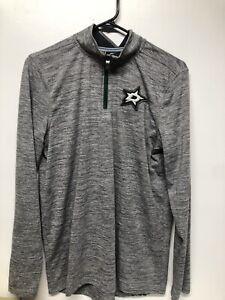 NHL Dallas Stars Youth Pullover Fleece Jacket - KIDS XL (18/20) - Grey