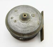 "New listing B22) Vintage Hardy Uniqua 2 5/8"" Fly Fishing Reel"