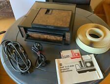 Vintage GAF 2690 35mm Slide Projector+Remote/PowerCords/WORKING TESTED+Carousel