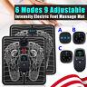 9-Level EMS Electric Foot Massager Pad Blood Circulation Muscle Stimulator Mat Q