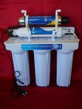 Depuratore acqua 5 STADI impianto purificatore con lampada UV no osmosi inversa